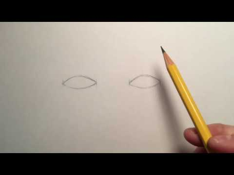 How to Draw Eyes - 8th Grade: Human Face Unit