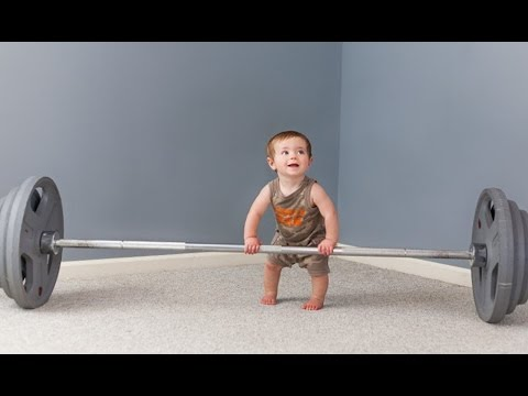 Funny Babies Doing Exercises Compilation (2016)