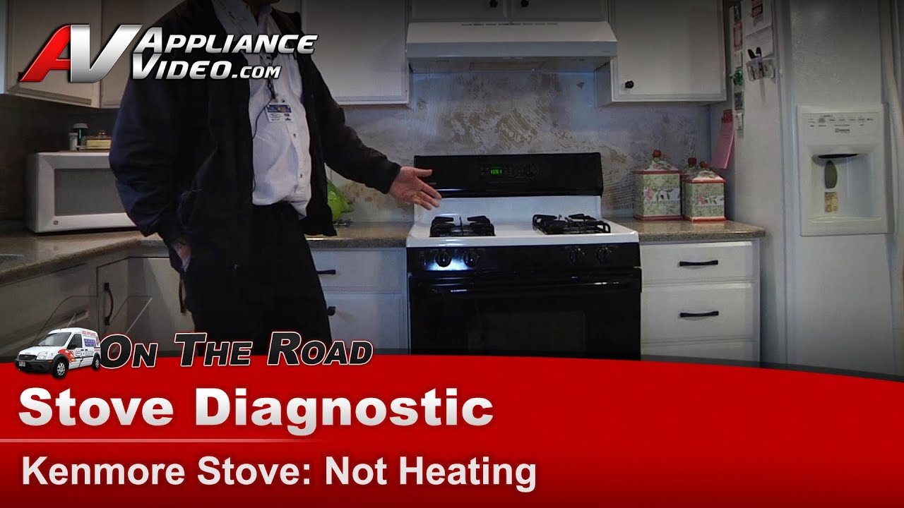 Kenmore Whirlpool Gas Stove Diagnostic Not Drying Or