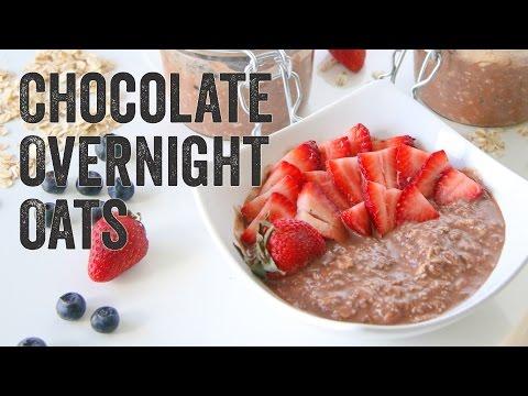 Chocolate Overnight Oats Recipe: Season 3, Ep. 2 Chef Julie Yoon