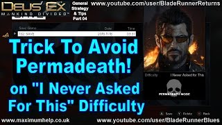 видео Deus Ex: Mankind Divided - I never asked for this
