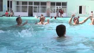 Молодежная смена 2014. Бассейн