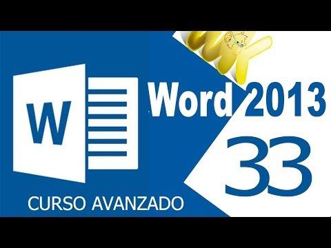 Curso avanzado de microsoft word 2007