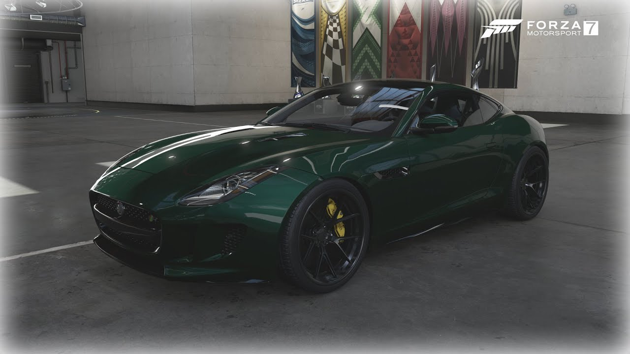 forza motorsport 7 2015 jaguar f type r coup fast furious edition youtube. Black Bedroom Furniture Sets. Home Design Ideas