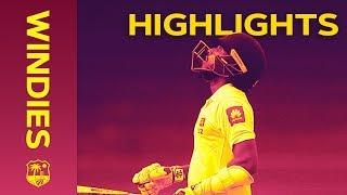 Mendis 94* As SL Go For World Record Chase - Windies v Sri Lanka 1st Test Day 4 2018 | Highlights