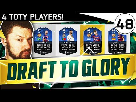 TOTY RONALDO, MESSI & NEYMAR!! - FUT DRAFT TO GLORY #48 - FIFA 16 Ultimate Team