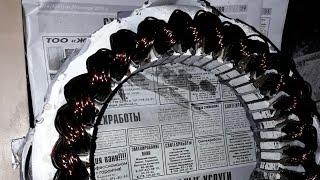 Работа перемотанного генератора на Могучем и причины перемотки статора