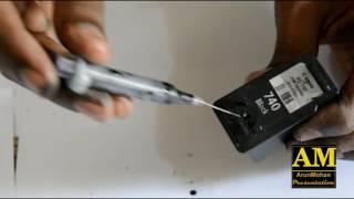 canon PG740 Black Ink catridge refilling mx457 How to refill pg740 ink catridge