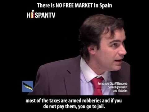 Fernando Díaz Villanueva | There Is NO FREE MARKET In Spain