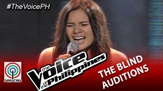 "The Voice of the Philippines Blind Audition  ""Hit The Road Jack"" by Patricia Gomez (Season 2)"