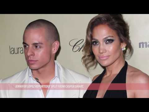 JLo split with Casper Smart Again and Seen with Ex Marc Anthony