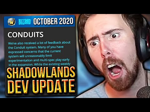 Asmongold CONCERNED About Shadowlands NEW Dev Update (Conduits & The Maw Changes)