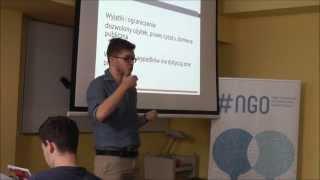 Prawo autorskie i licencje  CC - Kuba Danecki na #ngo/ SZKOŁA