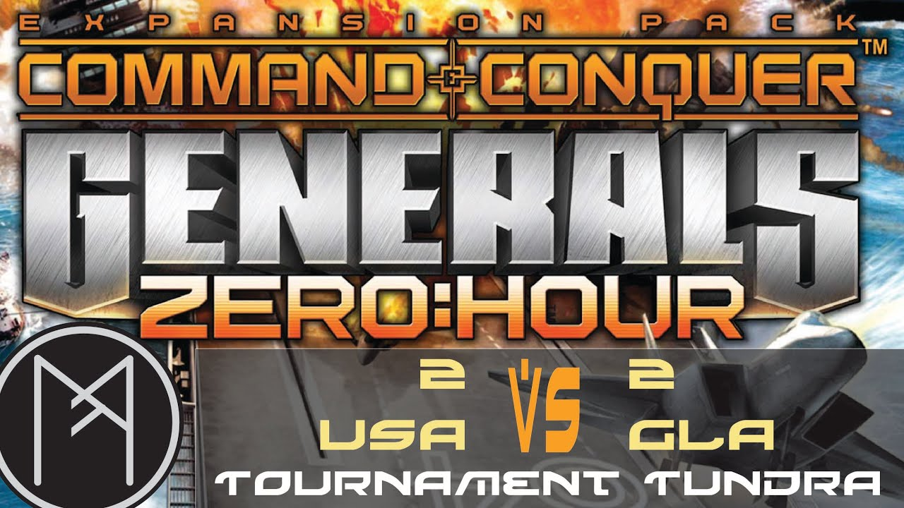 HD Decor Images » Command and Conquer  Generals   Zero Hour   2v2 USA Vs GLA     Command and Conquer  Generals   Zero Hour   2v2 USA Vs GLA Multiplayer    Tournament Tundra   YouTube