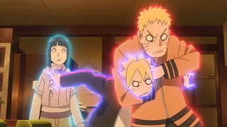 Naruto and Everyone after Defeating Momoshiki Otsutsuki // Boruto Makes Sarada Blush with His Nindo