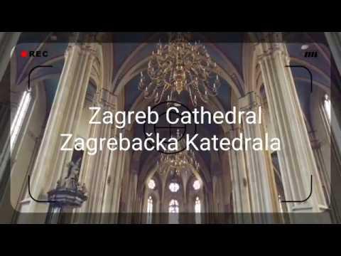 Zagrebacka Katedrala Pogled Iznutra Zagreb Cathedral 4k Youtube