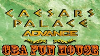GBA Fun House - Caesars Palace Advance: Millennium Gold Edition