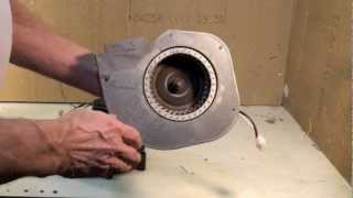 Troubleshoot of the gas furnace inducer