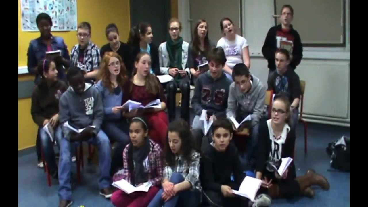 L Che Pas L 39 Cole 2014 Coll Ge De La Vaucouleurs Youtube