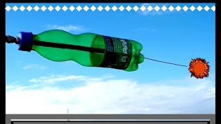 TEST ✅ ➡️ HD antenna with plastic bottle for smart tv ❗💯% HDTV📺