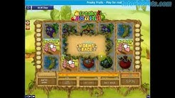 Freaky Fruits Slots Big Win and Bonus Play for real - Tutorial Slots