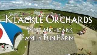 Klackle Orchards - West Michigan's Family Fun Farm!