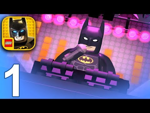 LEGO BATMAN MOVIE GAME Gameplay Part 1 - Batman (iOS Android) |