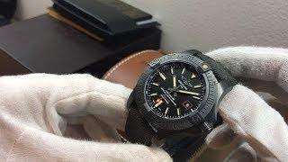 S/N C476 Breitling Blackbird 44 in Titanium