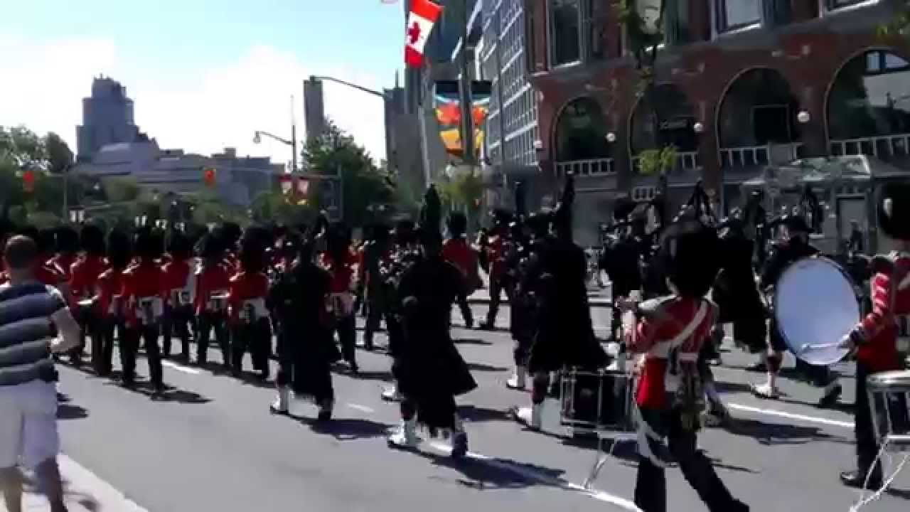 The governor general s foot guards - Governor General S Foot Guards Parliament Hill 3