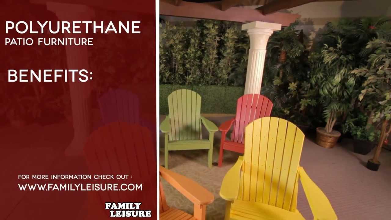 POLYURETHANE Patio Furniture Buyers Guide Video - YouTube