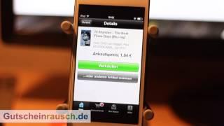 Momox im App-Test auf Gutscheinrausch.de