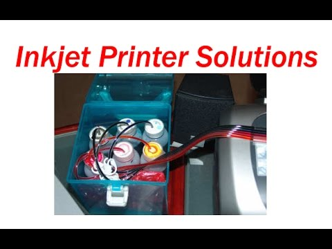 CISS installation in HP, Canon & refilling ink jet cartridge in Hindi