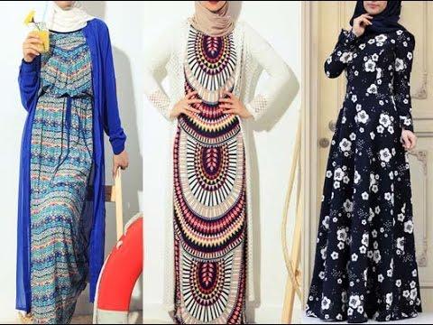 f4f9e6510250f Hijab Dresses Jilbab   Abayas - 2016- فساتين و ازياء للمحجبات - YouTube