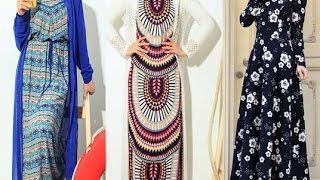 Hijab Dresses Jilbab & Abayas - 2016- فساتين و ازياء للمحجبات