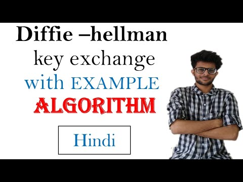 Diffie -hellman key exhange algoritm with example  in hindi | CSS series #6