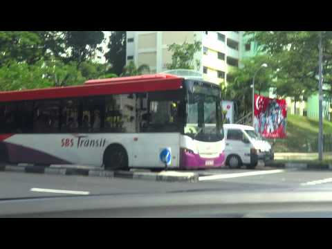 Dying EDS on a SBS Transit Scania K230UB