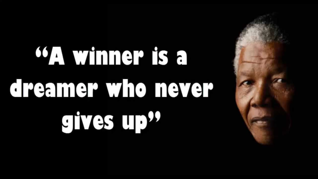 Quotes Nelson Mandela Adorable Nelson Mandela Quotes  Youtube