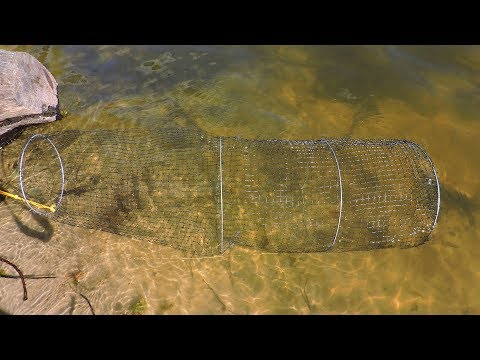 Как сделать самому садок для рыбы