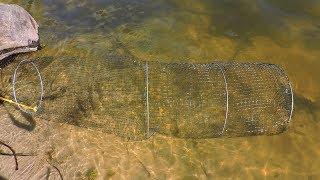 как сделать садок для рыбы в домашних условиях