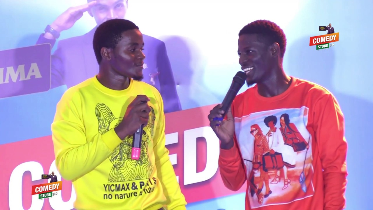 Alex Muhangi Comedy Store Feb 2019 - Maulana & Rein