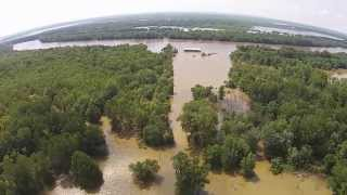 Illinois River Flooding Beardstown Illinois 2015