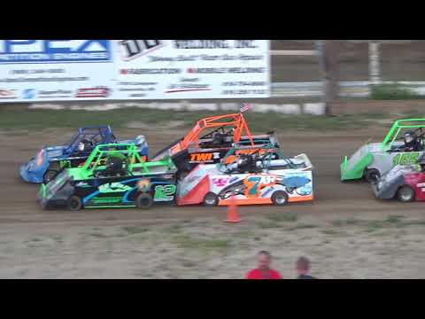 Mini Wedge Feature #1 at Crystal Motor Speedway on 07-07-2018!