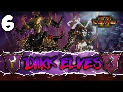 UNLOCK THE RITUAL! Total War: Warhammer 2  Dark Elves Coop Campaign w Pixelated Apollo 6