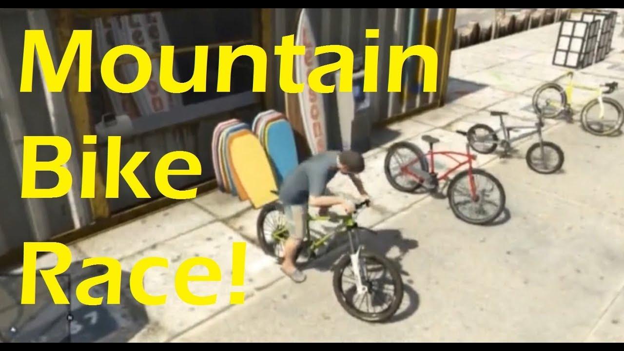 Gta V Mountain Bike Race Stream Highlight Xbox 360 Ps3 Youtube