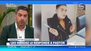 Leo Méndez Jr  respondió a Pastor Soto pisoteando su foto LA MAÑANA