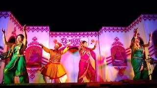 Khandobachi Karbharin zali banu dhangarin by dhumakul orchestra