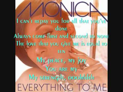 MONICA LYRICS - MONICA Song Lyrics