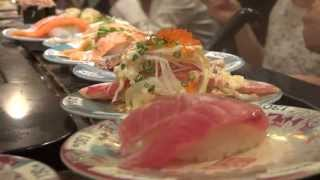 SUSHI o jakim marzyłem | Salon Patchinko Shibuya | Tokyo Japan VLOG [37]
