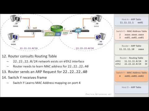Packet Traveling - How Packets Move Through A Network