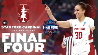 Stanford vs. Louisville - Elite Eight Women's NCAA Tournament Extended Highlights